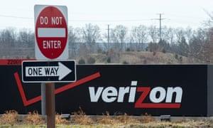 The Verizon logo