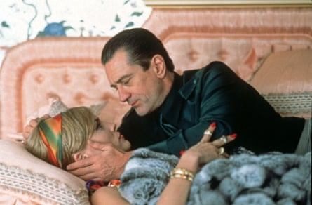 Sharon Stone and Robert De Niro in Casino.