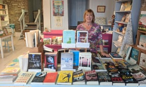 Linda Furniss, owner of The Stripey Badger bookshop in Grassington. The shop is one of 15 new independent bookshops to open in 2018.