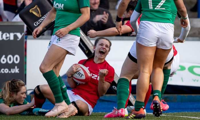'As soon as I picked up the ball I just loved it': Wales winger Jaz Joyce on her journey to representing the nation