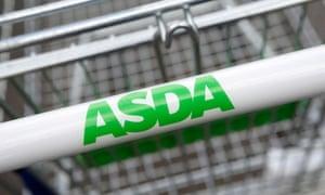 an asda shopping trolley
