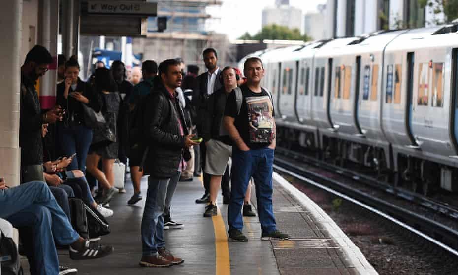 Rail passengers.