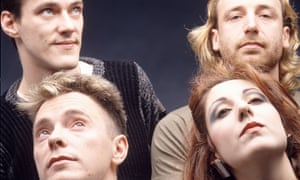 The band in its 80s heyday.