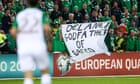 Mick McCarthy urges angry Republic of Ireland fans not to stage protests