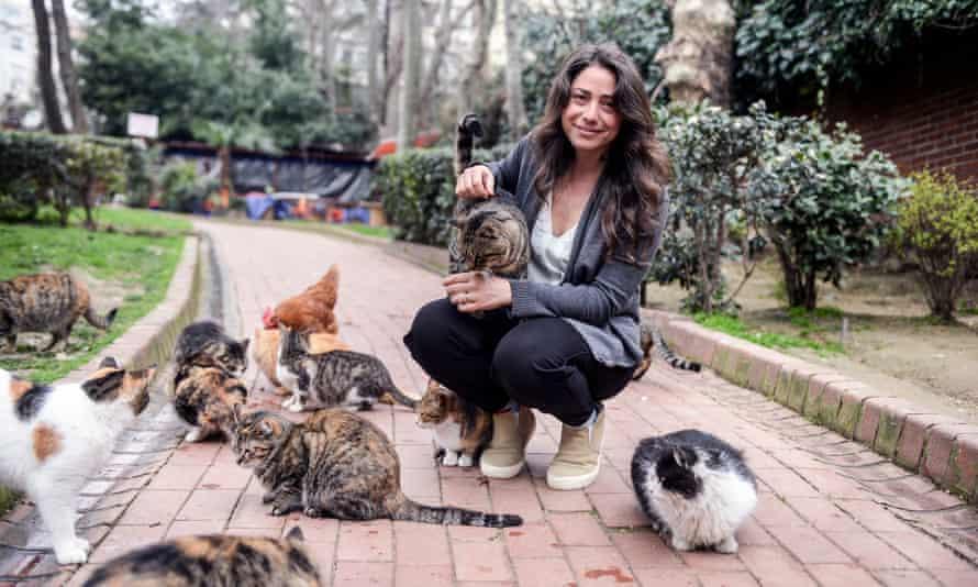 Director Ceyda Torun in Istanbul.