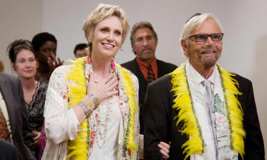 Jane Lynch (left) in Party Down.