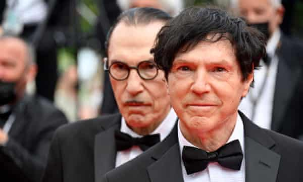 The Mael brothers in Cannes.