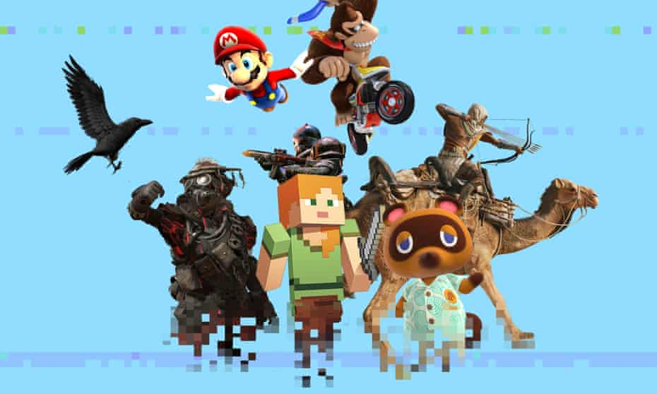 From Mario to Minecraft.