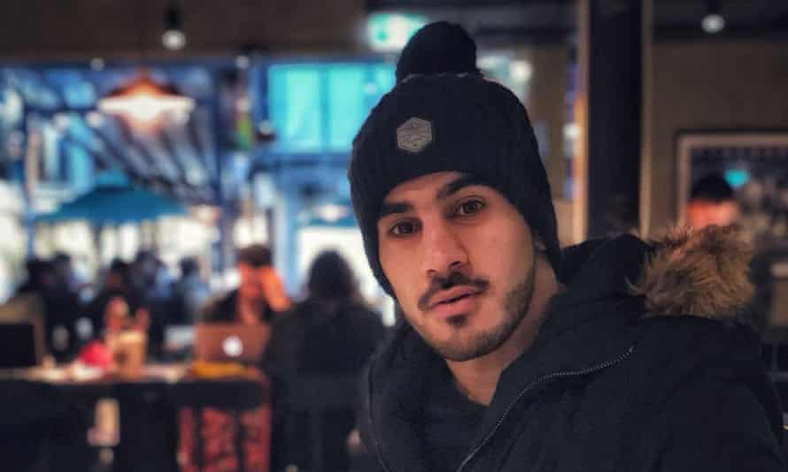 Hakeem al-Araibi in Australia before he was arrested in Thailand.