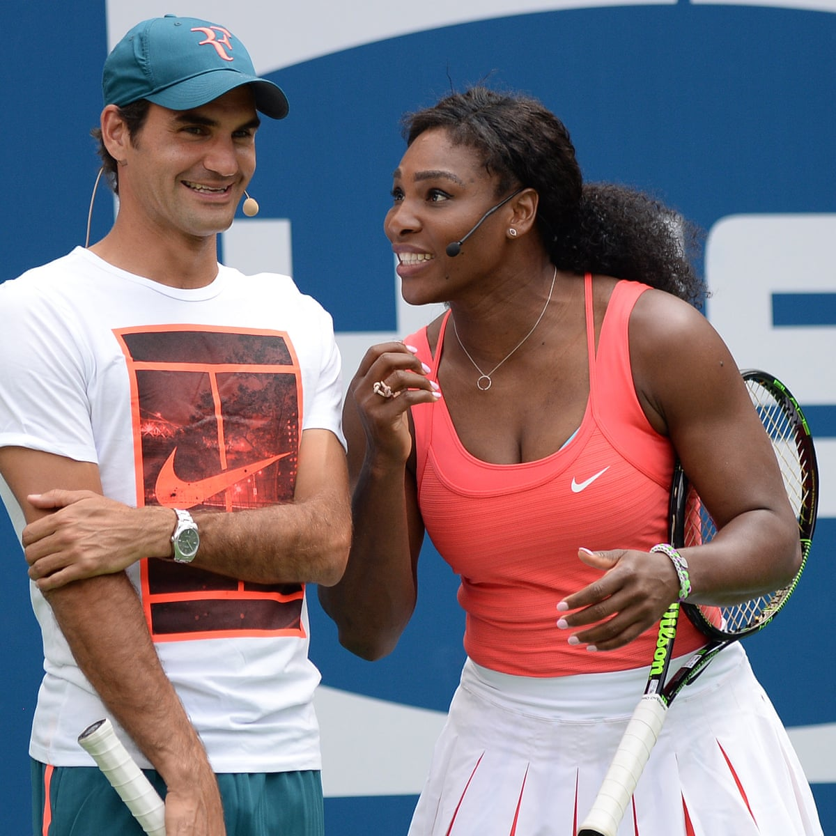 How Roger Federer And Serena Williams Came To See Themselves In Each Other Sport The Guardian