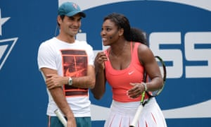 Roger Federer and Serena Williams have won a combined 43 grand slam singles titles