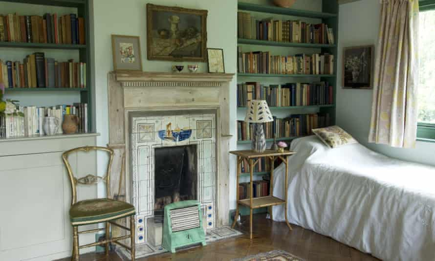 Of one's own … Virginia Woolf's bedroom at Monk's House, East Sussex.