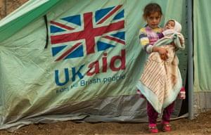 Yazedi refugee children in Iraq in 2014