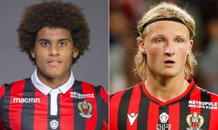 Kasper Dolberg, who joined Nice in the summer from Ajax, had his watch stolen by Lamine Diaby Fadiga.