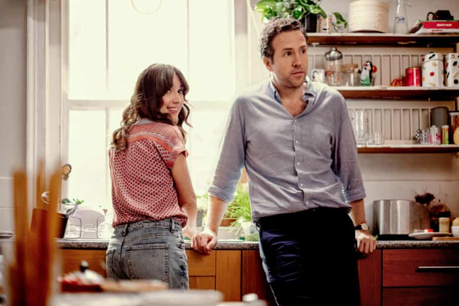 Esther Smith and Rafe Spall in Trying.
