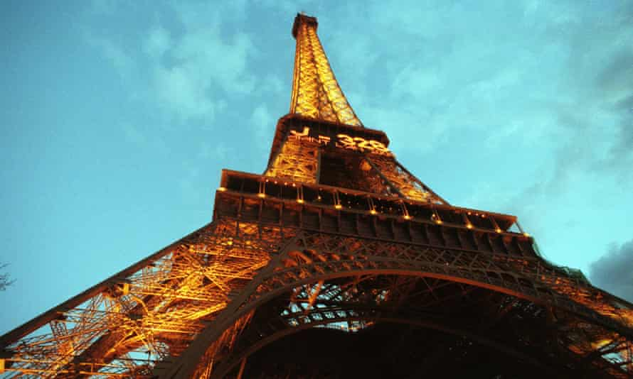 The steel in the Eiffel Tower, melted down and spread over the structure's base, would be only 6cm tall