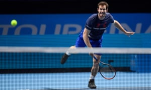 Andy Murray before the ATP World Tour Finals
