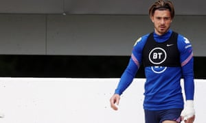 Grealish took part in Monday's training session.