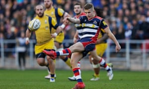 Injuries have given academy player Billy Searle the opportunity to impress at 10 for Bristol.