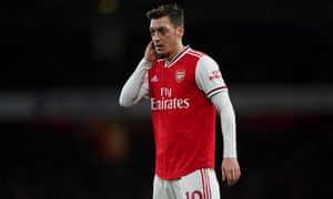 Mesut Özil used social media to criticise the Chinese government.