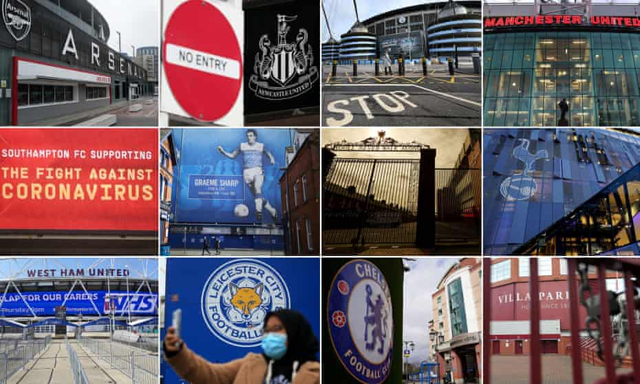 The 20 Premier League clubs have taken different approaches to the coronavirus crisis.