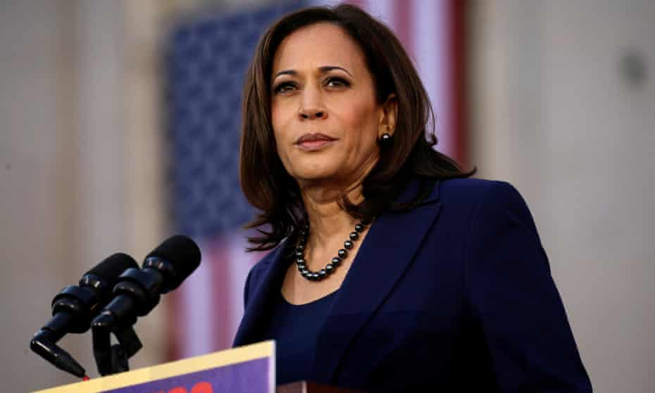 Senator Kamala Harris faced scrutiny in right-wing media circles over her dating history after jumping into the presidential race.