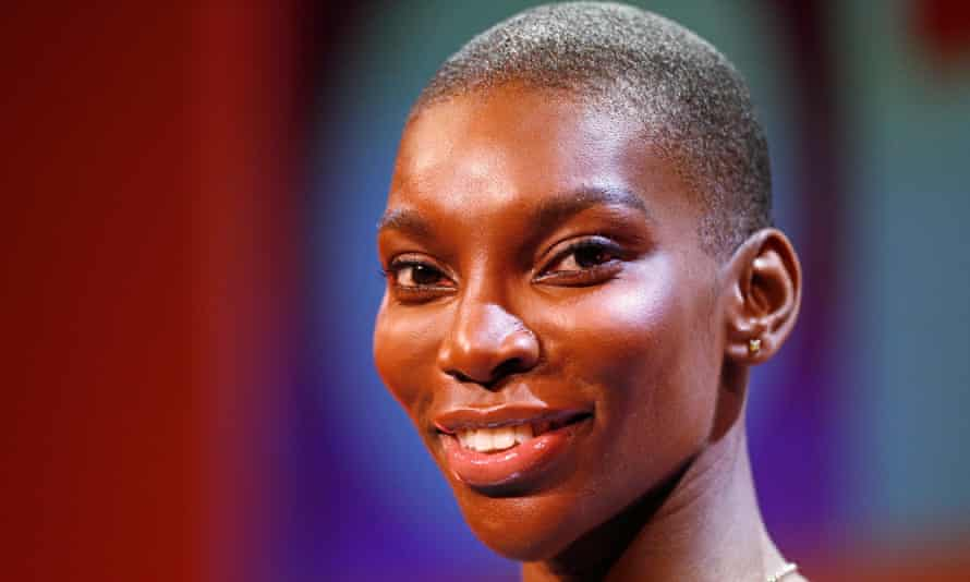 Michaela Coel at the Edinburgh TV festival to give the annual MacTaggart lecture.