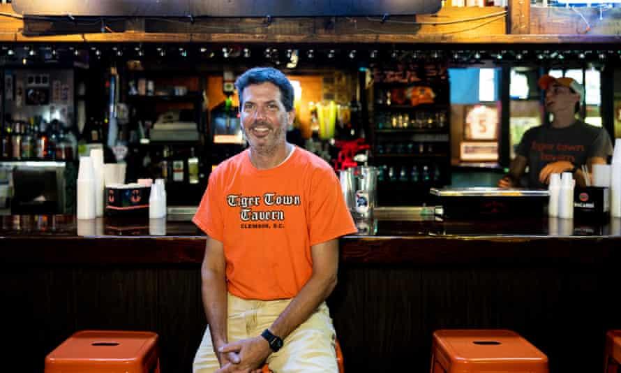 Cameron Farish, part-owner of Tiger Town Tavern: