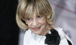 Jeanne Moreau at the 20th European film awards in Berlin in 2007.