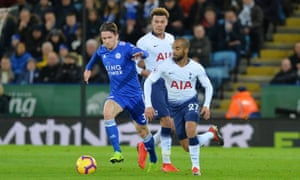 Leicester City's left-back Ben Chilwell.