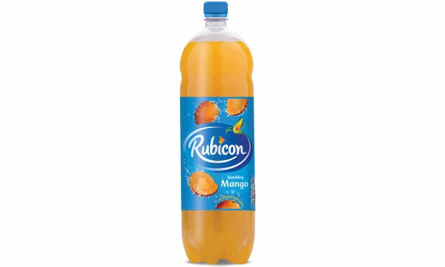 Rubicon Sparkling Mango drink