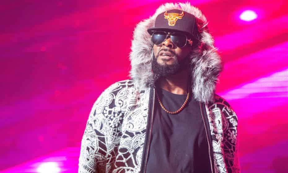 R Kelly in concert in February 2018.