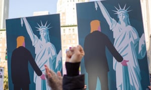 A poster from the Women's March in Los Angeles.
