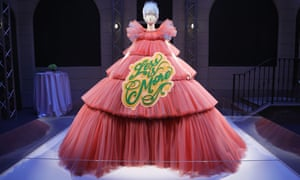 An exhibit from the Costume Institute in New York's spring 2019 exhibition, 'Camp: Notes on Fashion'.