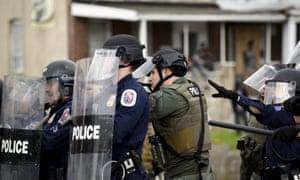 Law enforcement officer fires