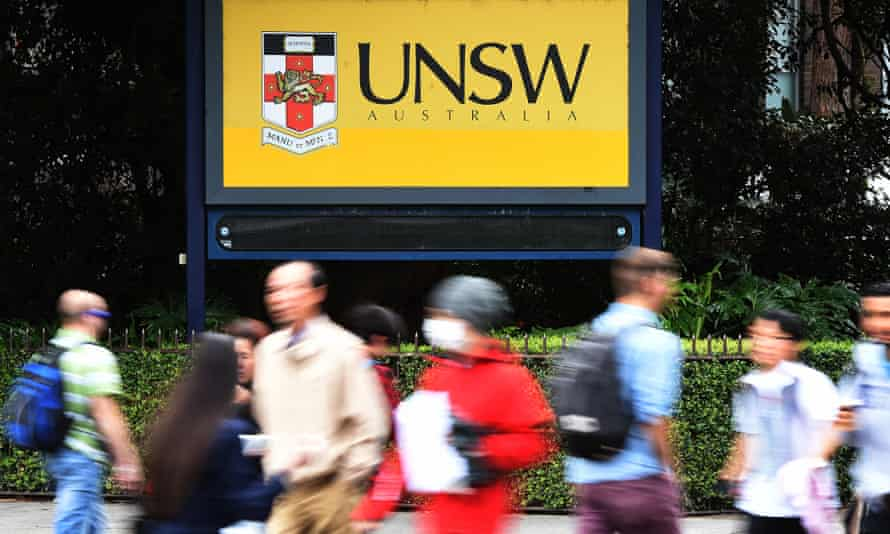 University of NSW students