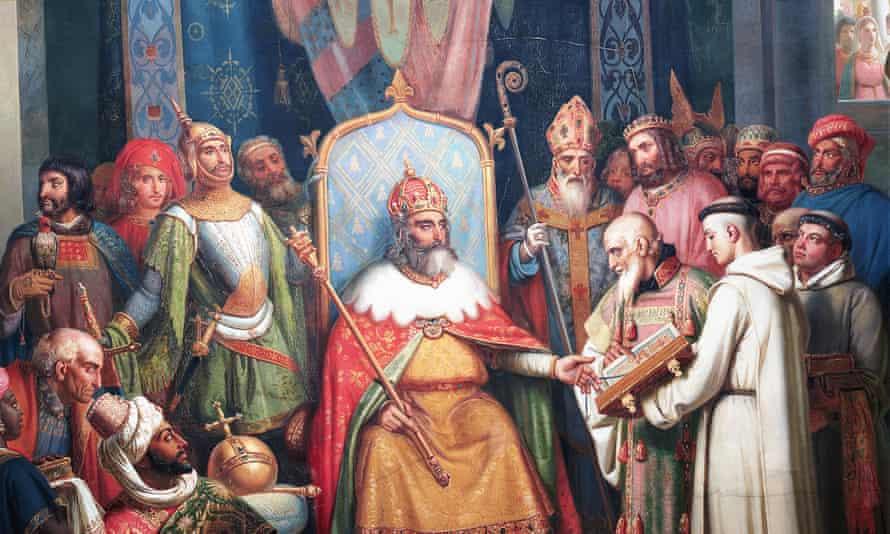 Charlemagne Jean-Victor Schnetz