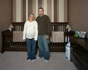 Lori, who is pregnant, and Scott