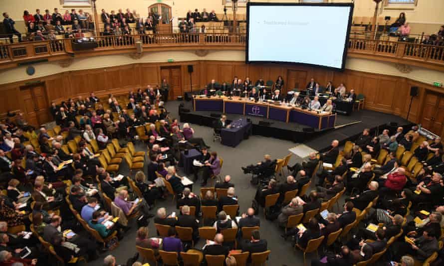 General synod's assembly hall at Church House