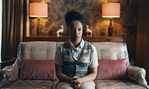 A career-making turn ... Naomi Ackie as Bonnie in The End of the F***ing World, series two