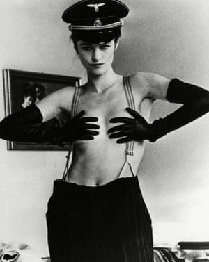 Charlotte Rampling in 1974's The Night Porter.