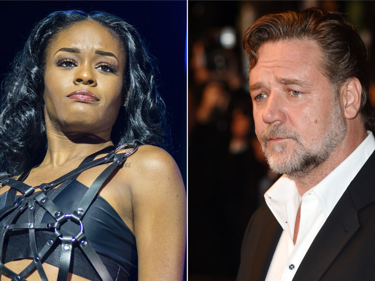 Azealia Banks and Russell Crowe clash over hotel party altercation | Azealia  Banks