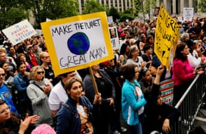 'Make the Planet Great Again'.