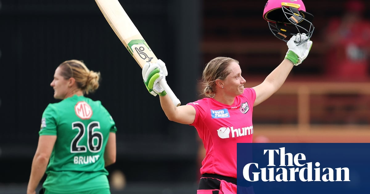 Alyssa Healy WBBL masterclass not enough for Sixers as Scorchers reach finals