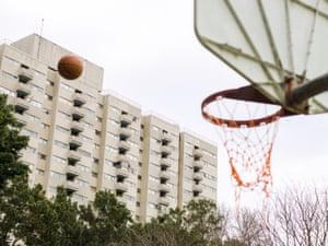 Redfern basketball courts.