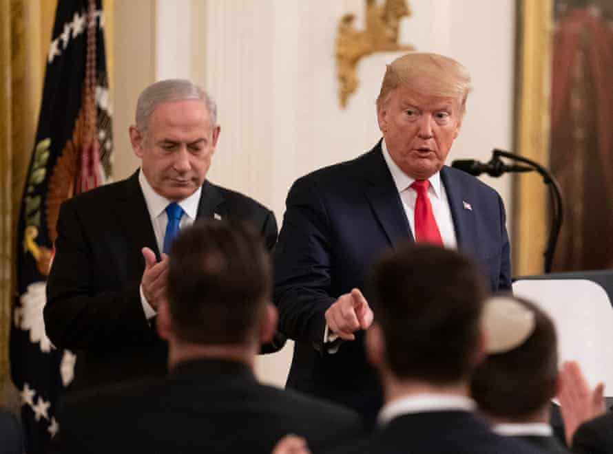 'The plan gives Israel just about everything Israeli hard-liners want. The Palestinians get nothing – but that is little surprise considering that the plan was developed without consulting them.'