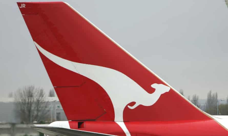 A Qantas aircraft