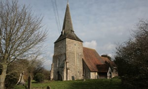 Grade-II listed church in Sevington in Kent