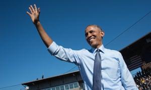 Obama in Michigan