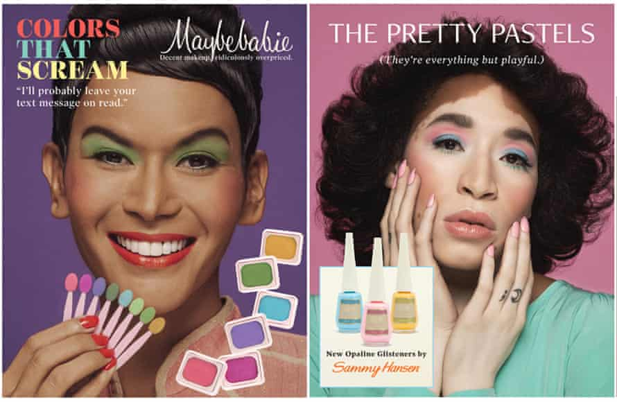 'It's sheer! It's queer!': redesigning and diversifying beauty ads of the past